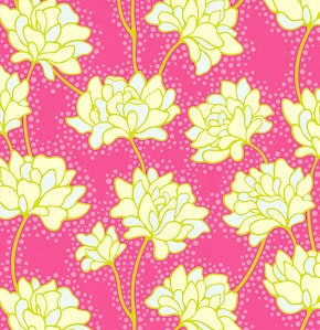 Heather Bailey - Pop Garden - Peonies in Rose - BTY