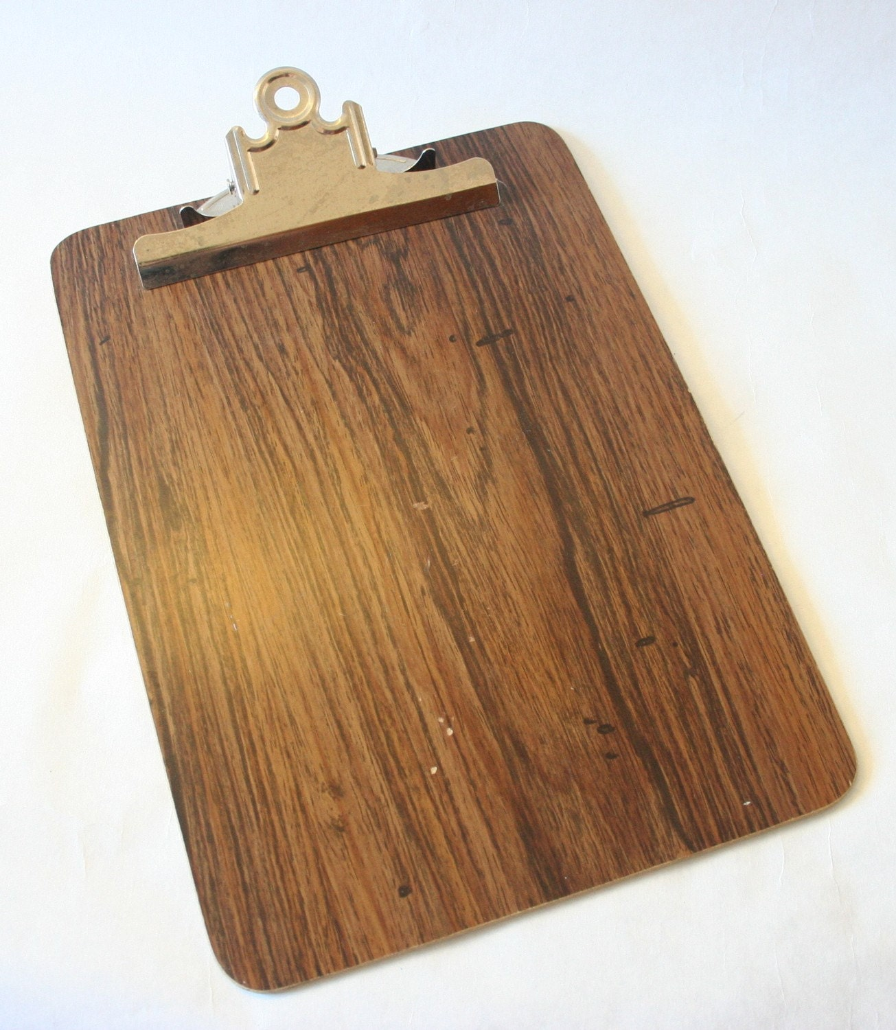 Vintage wooden clipboard by justinnardy on etsy