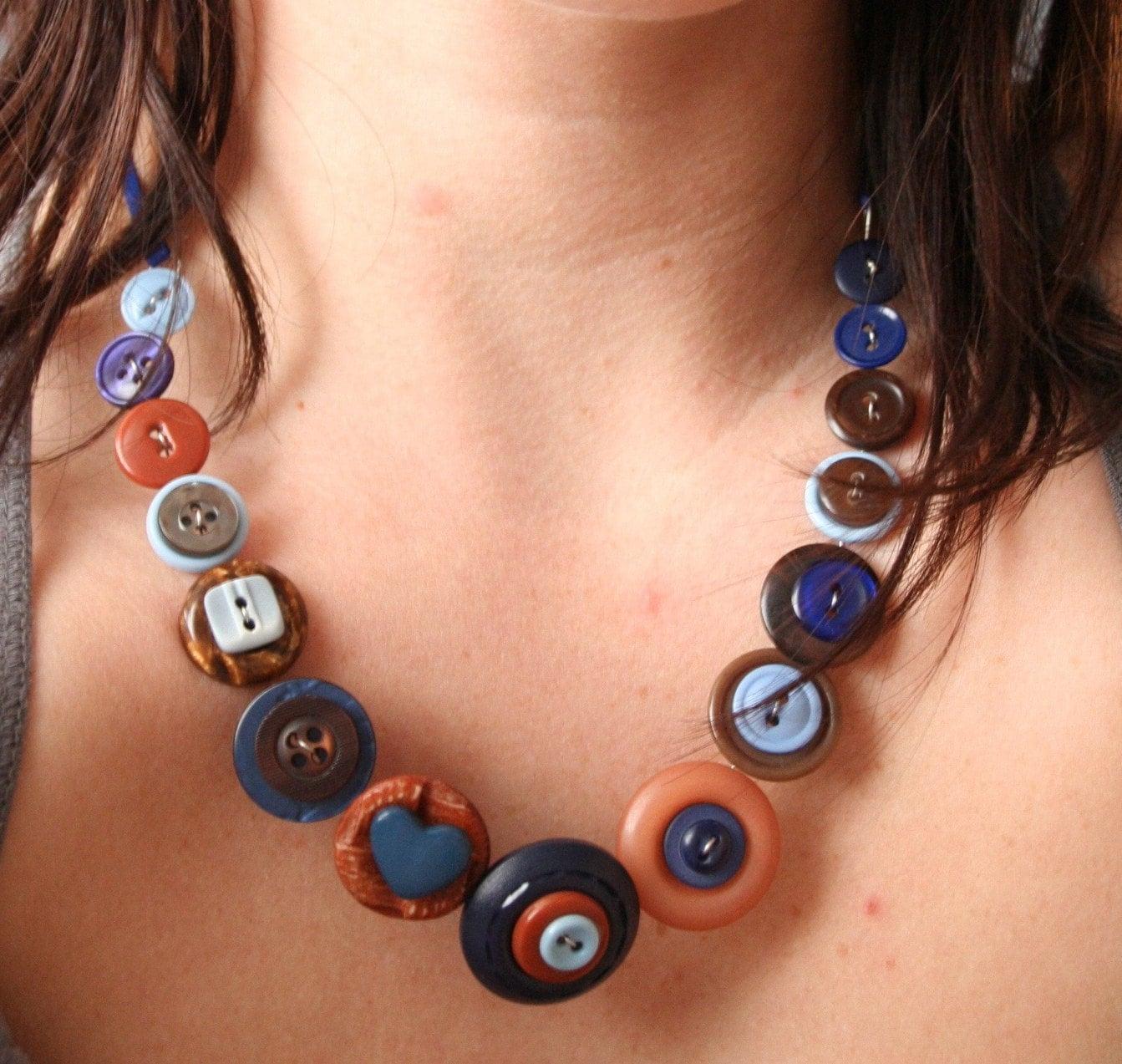 Button Necklaces