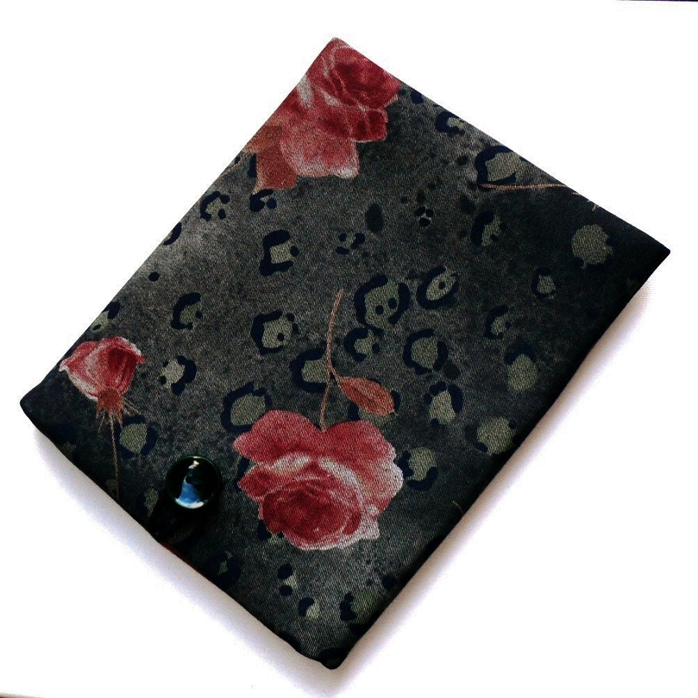 17.3 Laptop Case Asus Sleeve Acer Aspire Cover Dell Inspiration 17 Custom Size Sleeve Padded Shock Absorbent Foam Padding Denim Roses
