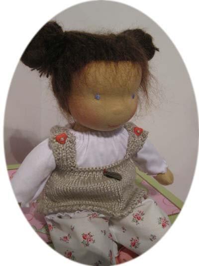 Emma Twinkle-Toe Waldorf inspiert cloth doll