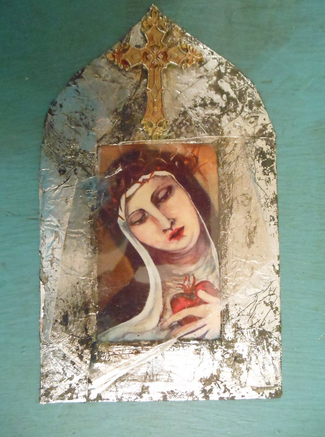 Prayer Card--Blessed Mother