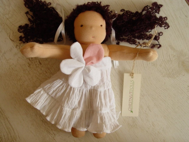 Carrie - 10 inch waldorf doll - made to order