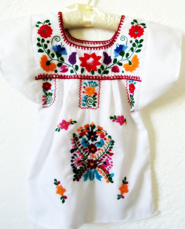 Florecitas Del Campo Handmade Embroidered By Elizabethpalmer