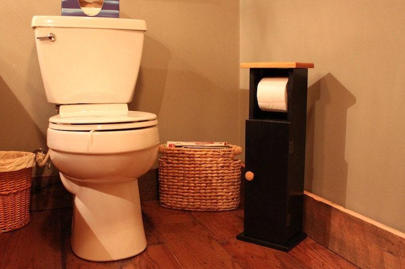 bathroom caddy cabinet bath tissue holder toilet paper stand
