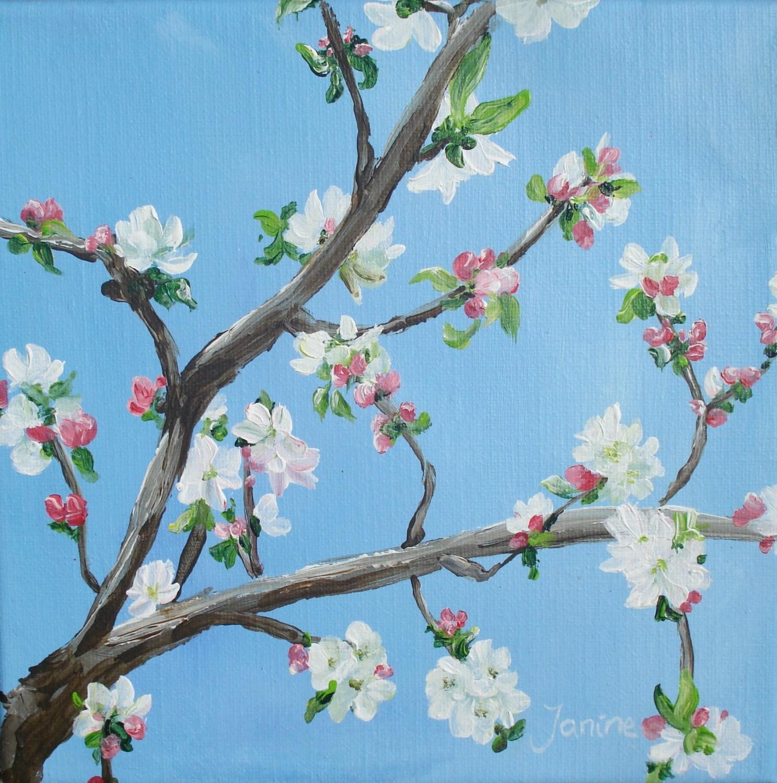 Spring Blossom II - JaninePaintings