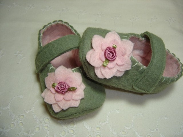 MaryJanes Baby Shoes