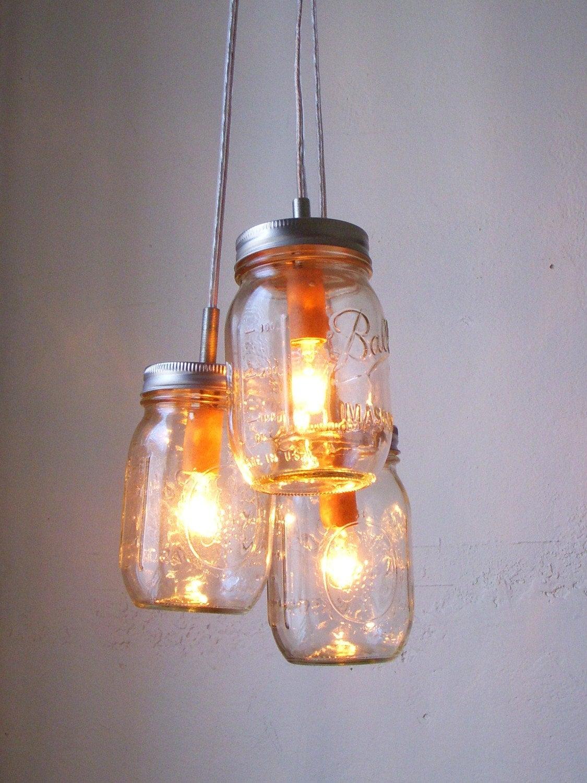summer splendor jar chandelier hanging pendant by
