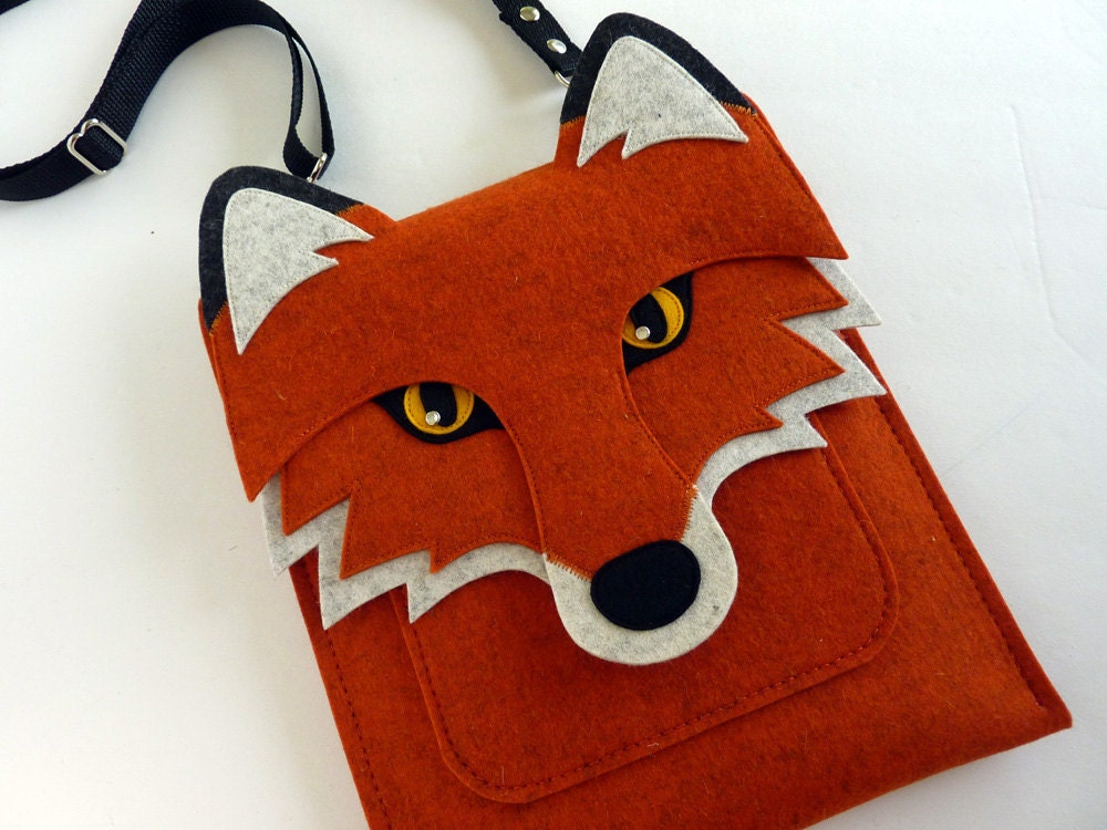 Original Handmade Fox Ipad Sleeve