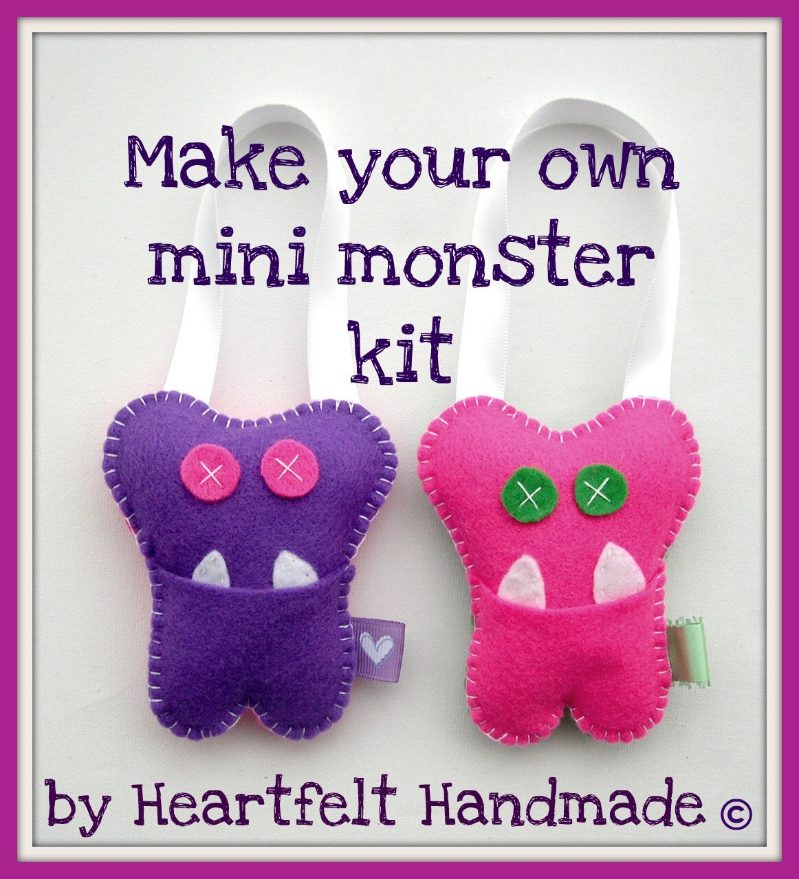 Make your own monster craft kit