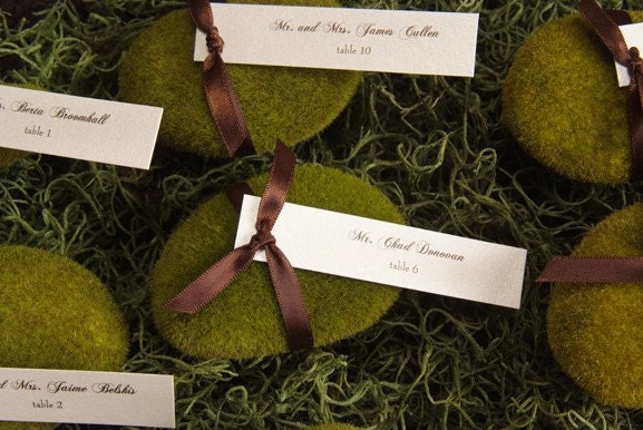 Moss Rock Escort/Place Card