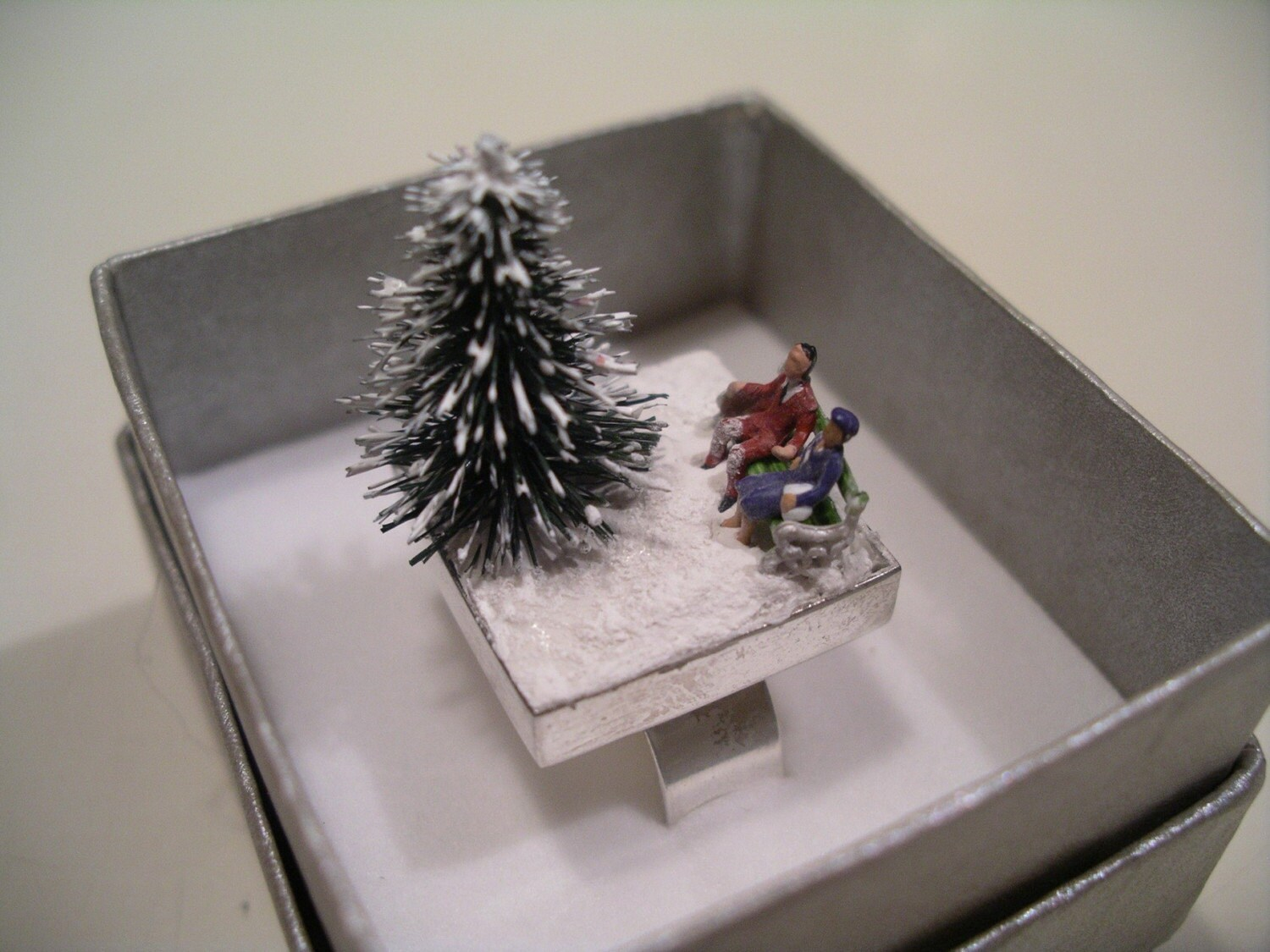 Winter Holiday Tale ring -Couple 2-