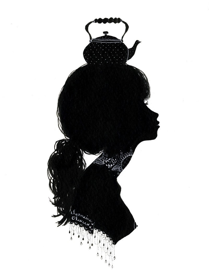 Original Silhouette - Teapot Hat