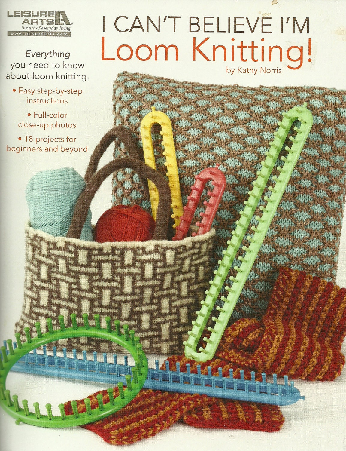 Long Loom Knitting Patterns Beginners : LOOM PATTERN BOOK / i Cant Believe Im Loom by WhatCameFirst