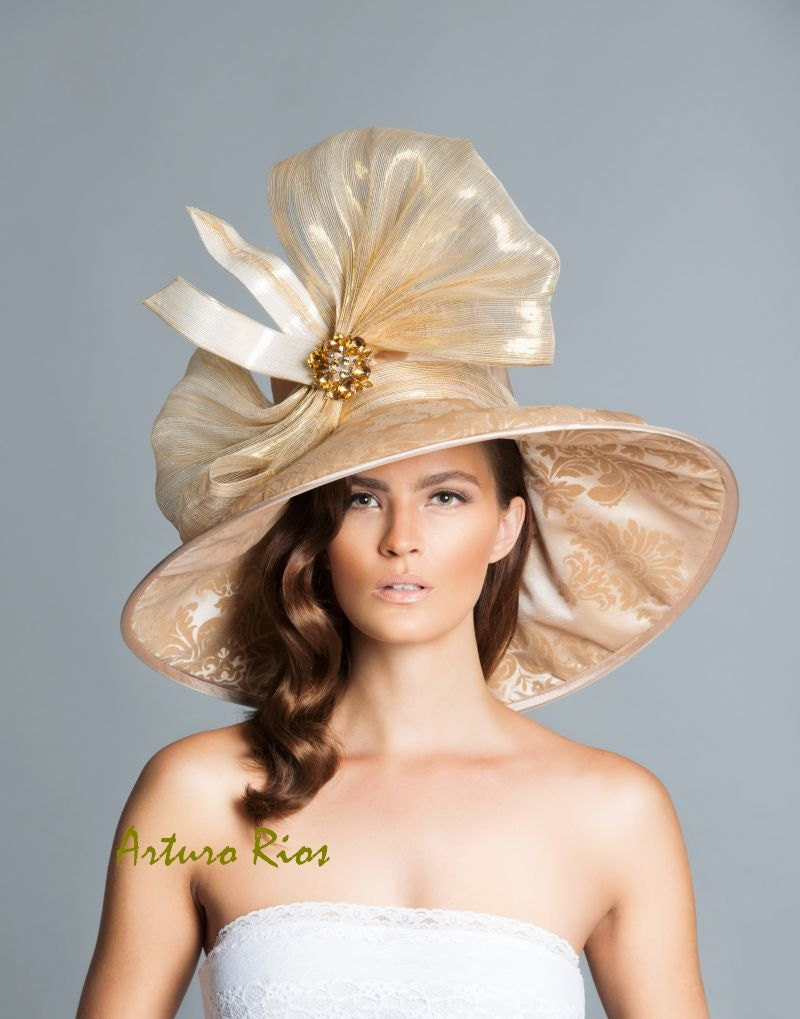 Couture Derby Hat Lampshade Hat by ArturoRios on Etsy