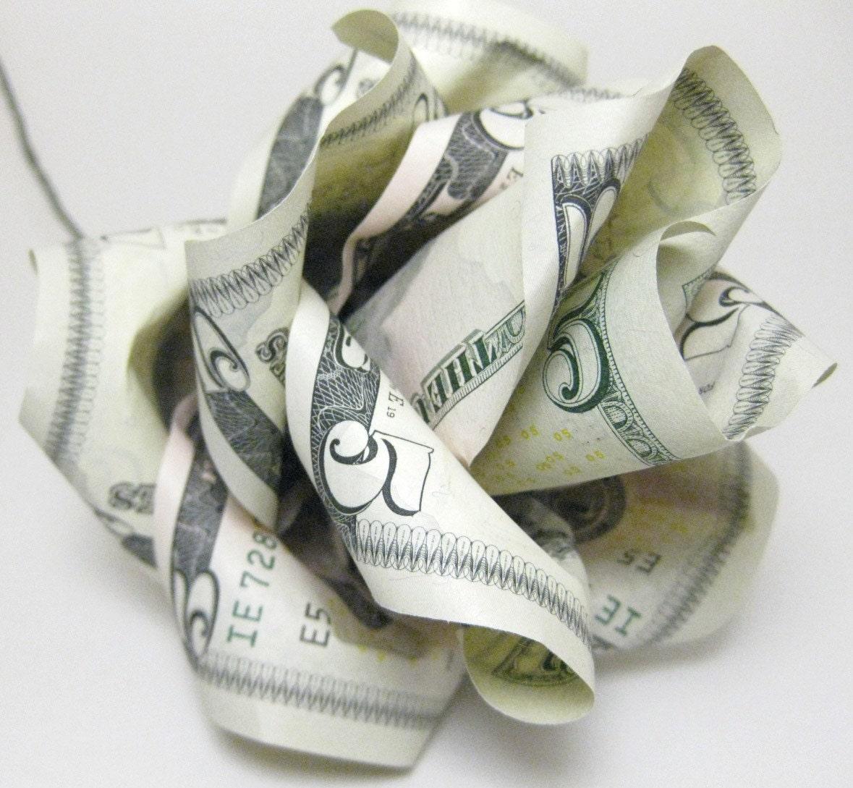 MONEY ROSE ORIGAMI « EMBROIDERY & ORIGAMI - photo#3