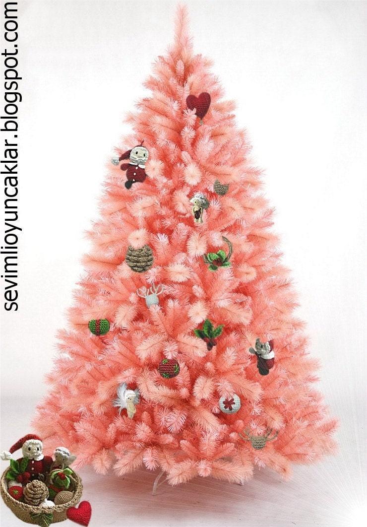 Free Crochet Zombie Doll Pattern : Amigurumi Christmas Ornament Pattern by Denizmum on Etsy