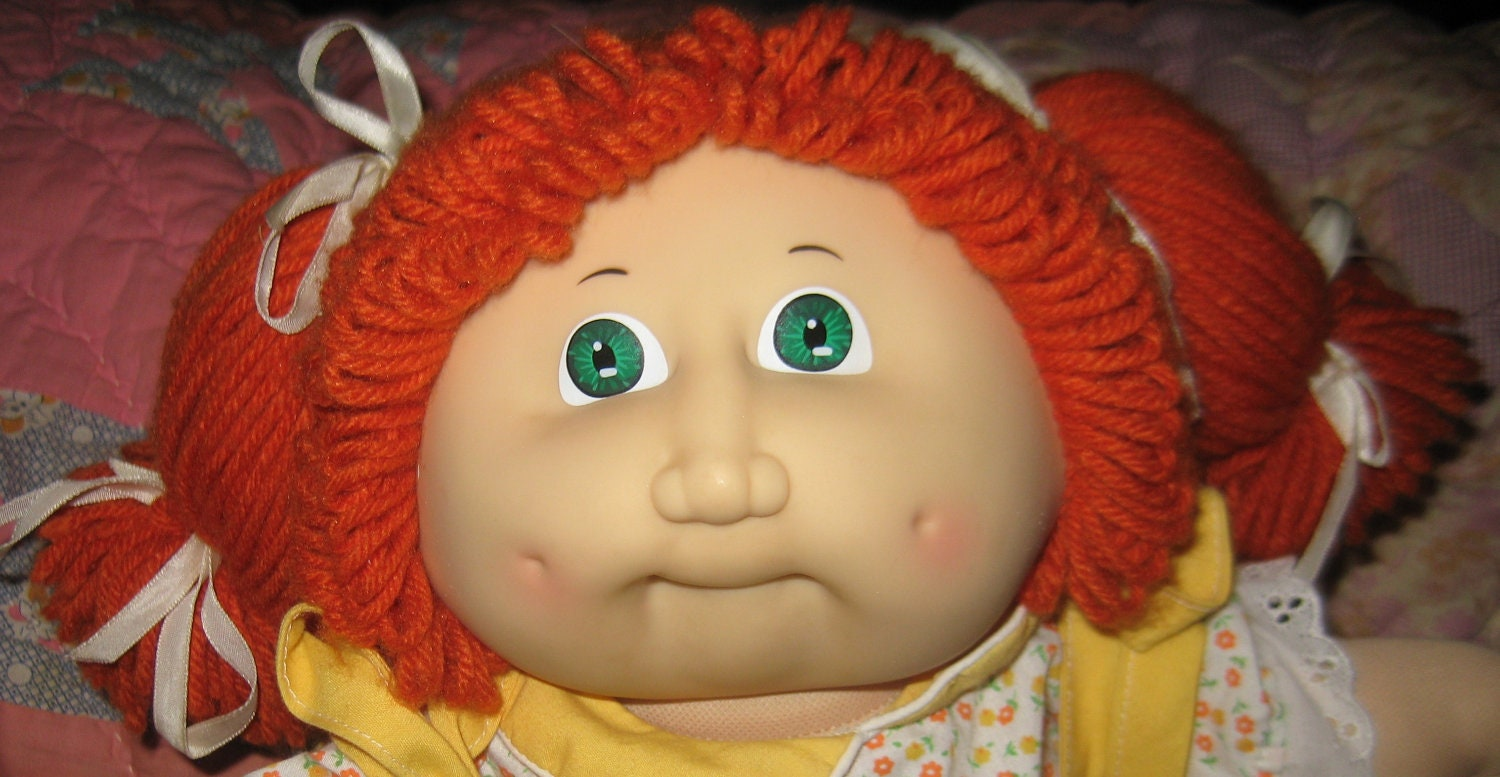 red head doll in Vintage Cabbage Patch Dolls eBay