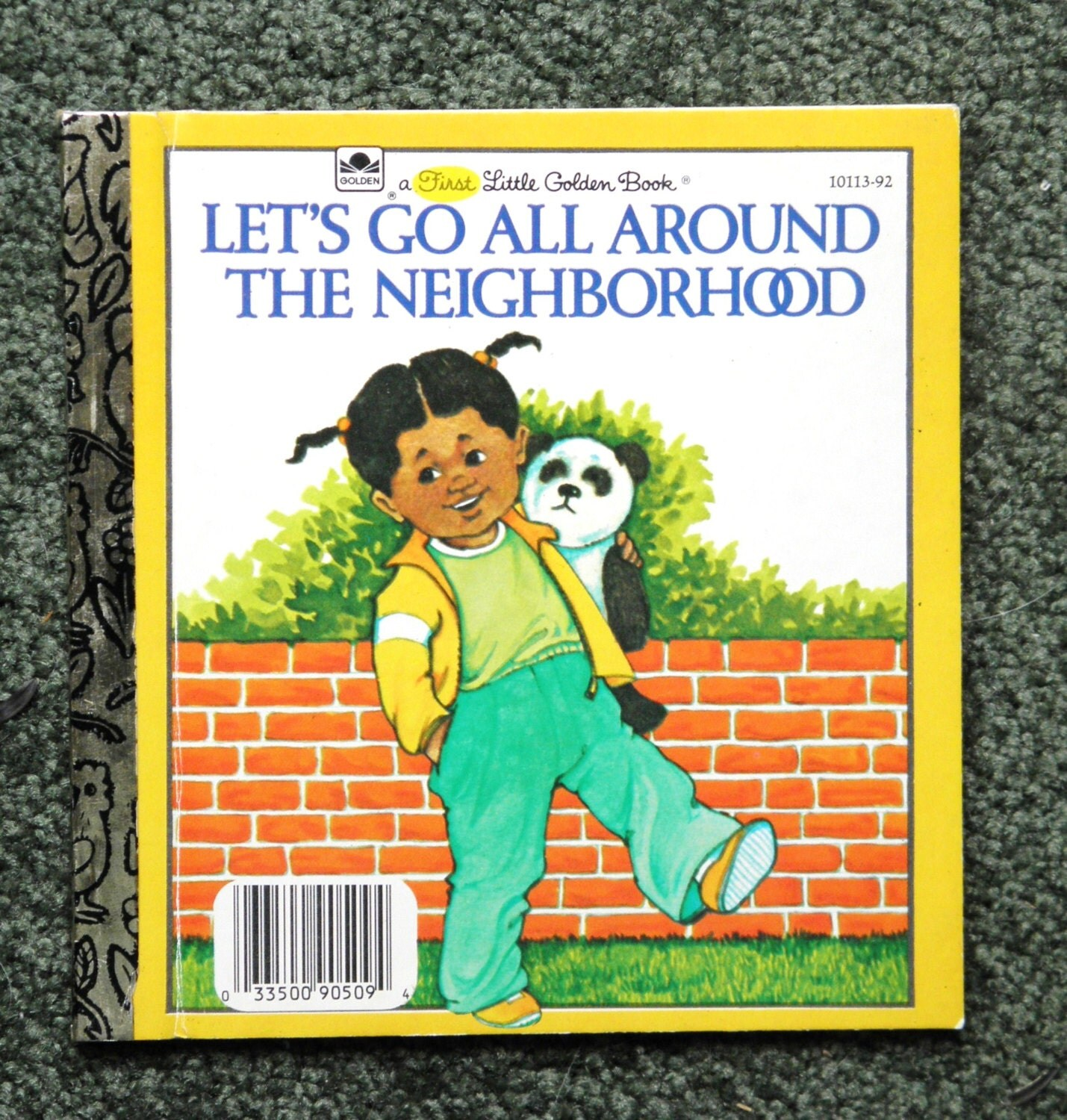 First  LITTLE GOLDEN BOOK, Let's Go All Around the Neighborhood - rmaryb