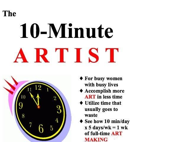 THE 10-MINUTE ARTIST eBOOK