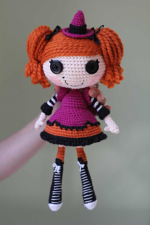 Схеме: Lalaloopsy Candy Метлы Вязаные куклы Amigurumi