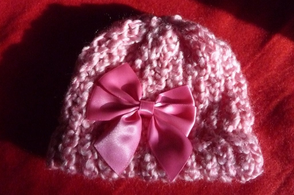 Sweety beanie in newborn baby or toddler size for valentines day photo prop or new sweetheart in your life