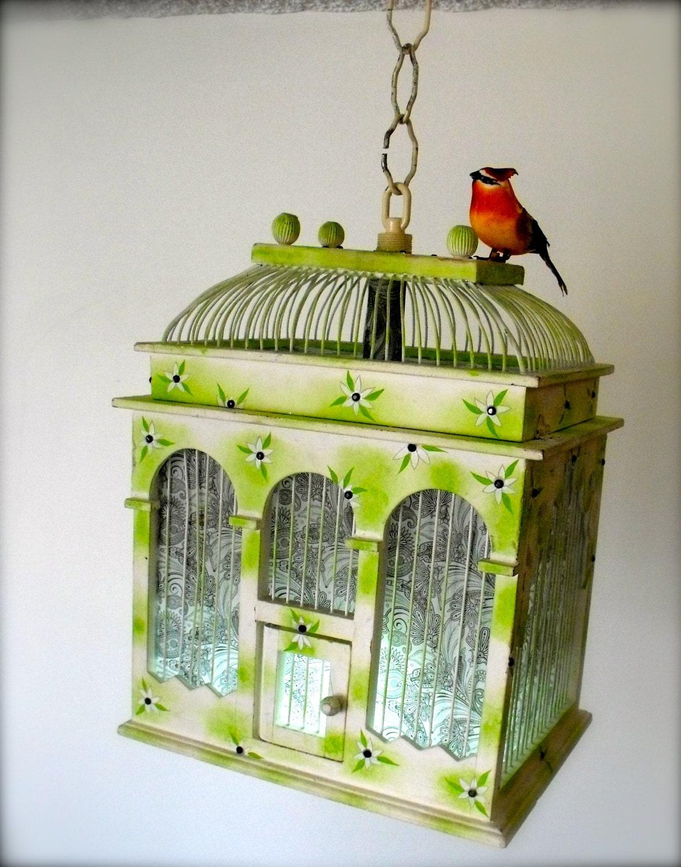 Handmade Hanging Bird Cage Lantern - CowboyandNinja