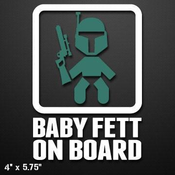 Custom Vinyl Decals Stickers Baby Jedi On Board - Custom vinyl decals houston tx