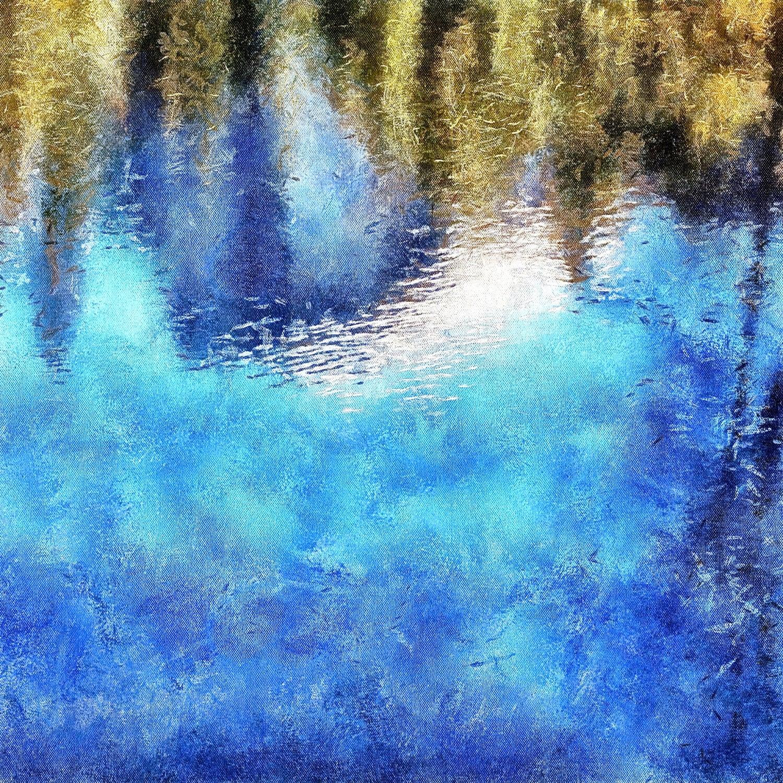 HALFDOME REFLECTION (I) - Expressionography
