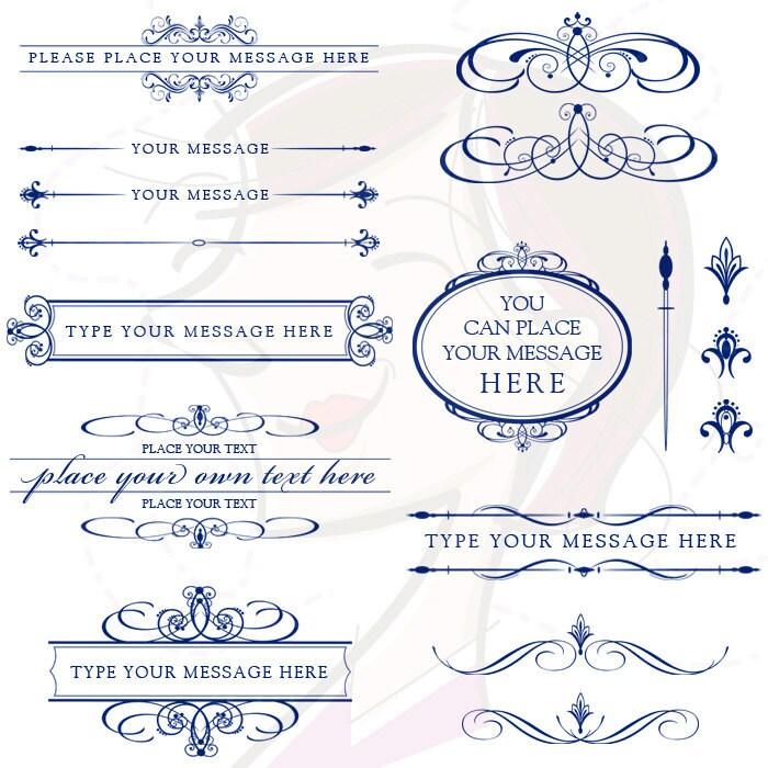 Line Art Wedding : Line art wedding clip clipart calligraphy by