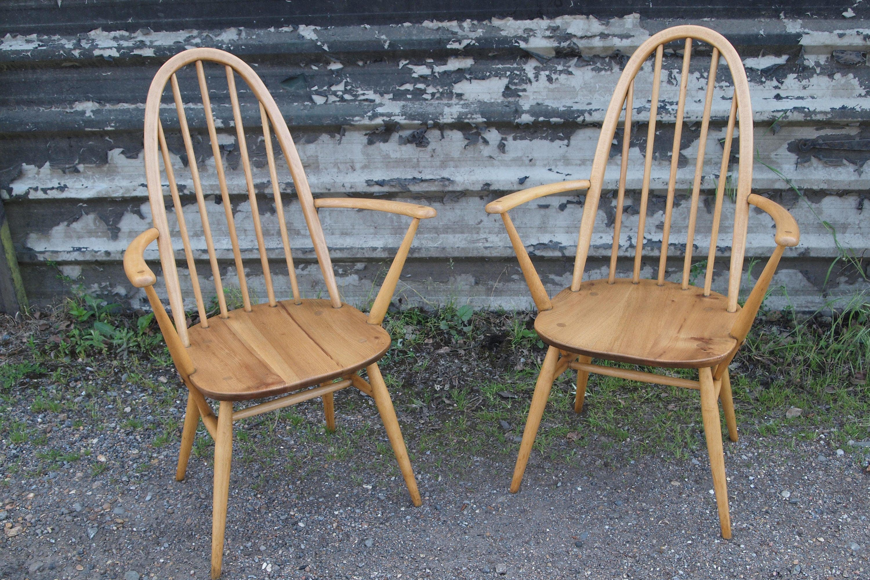 Pair of Ercol Carver Chairs SOLD SOLD SOLD  More coming
