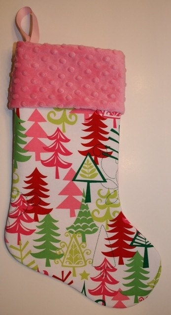 Cute holiday stocking