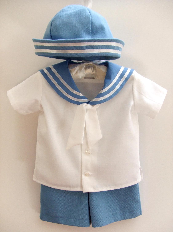 Items Similar Sailor Baby Boy Outfit Baptism