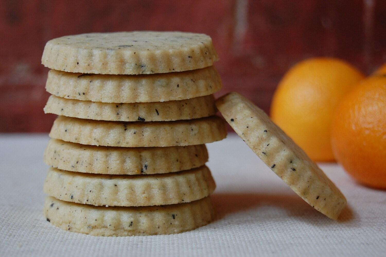 Clementine Earl Grey Shortbread