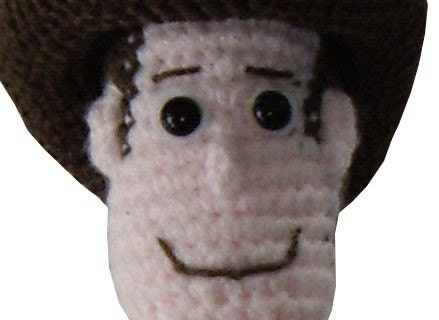 Amigurumi Toy Story : Items similar to Amigurumi Crochet Pattern: Woody doll ...