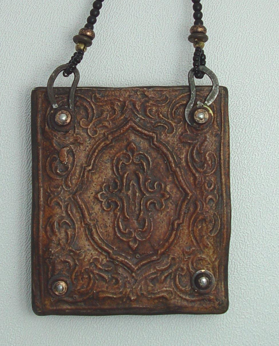 Vintage Gentleman Necklace Workshop, Online, Inspired Remnants, Curious Dreams