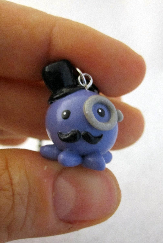Gentleman Octopus Ball Chain Necklace