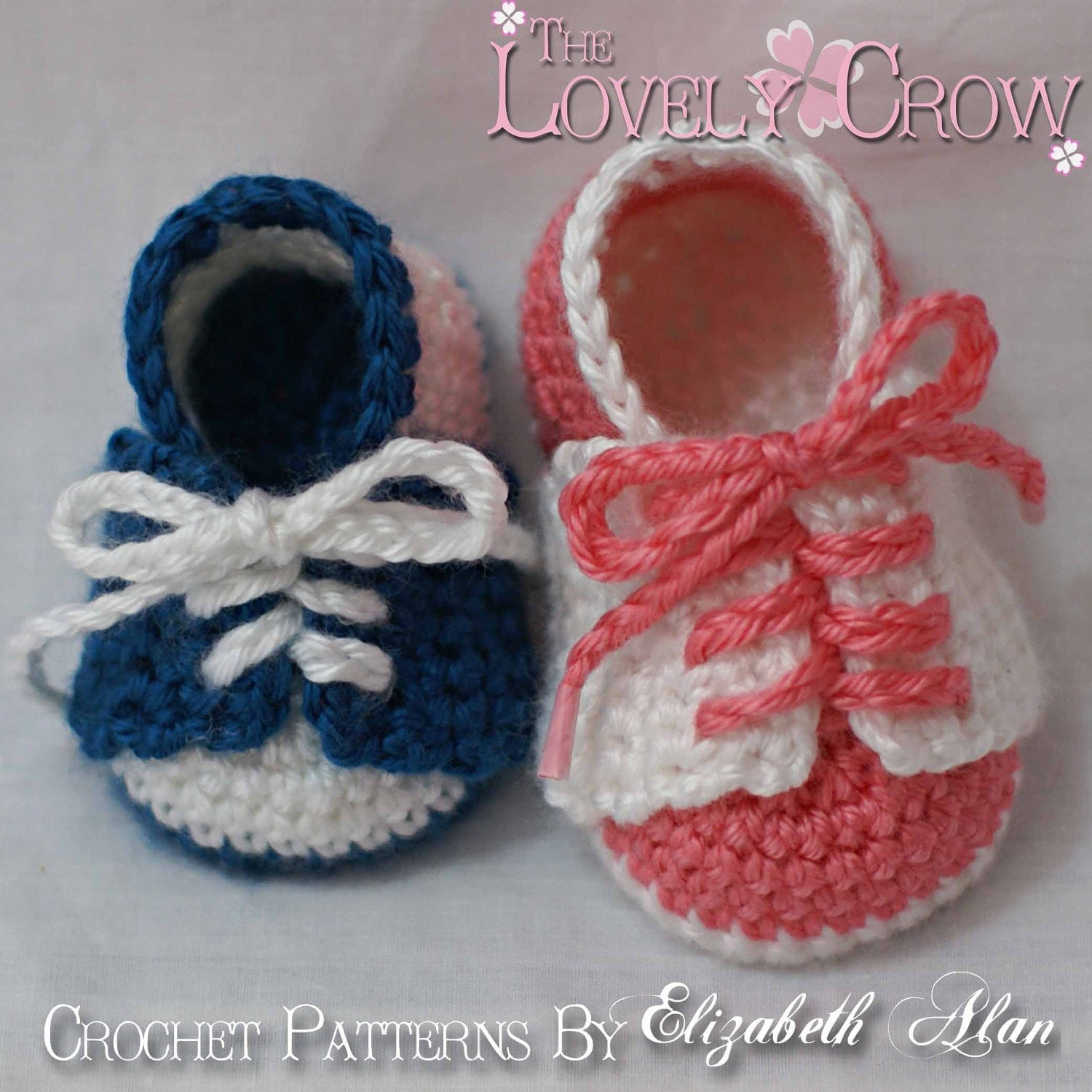 Baby Shoes Crochet Pattern for LITTLE SPORT by TheLovelyCrow