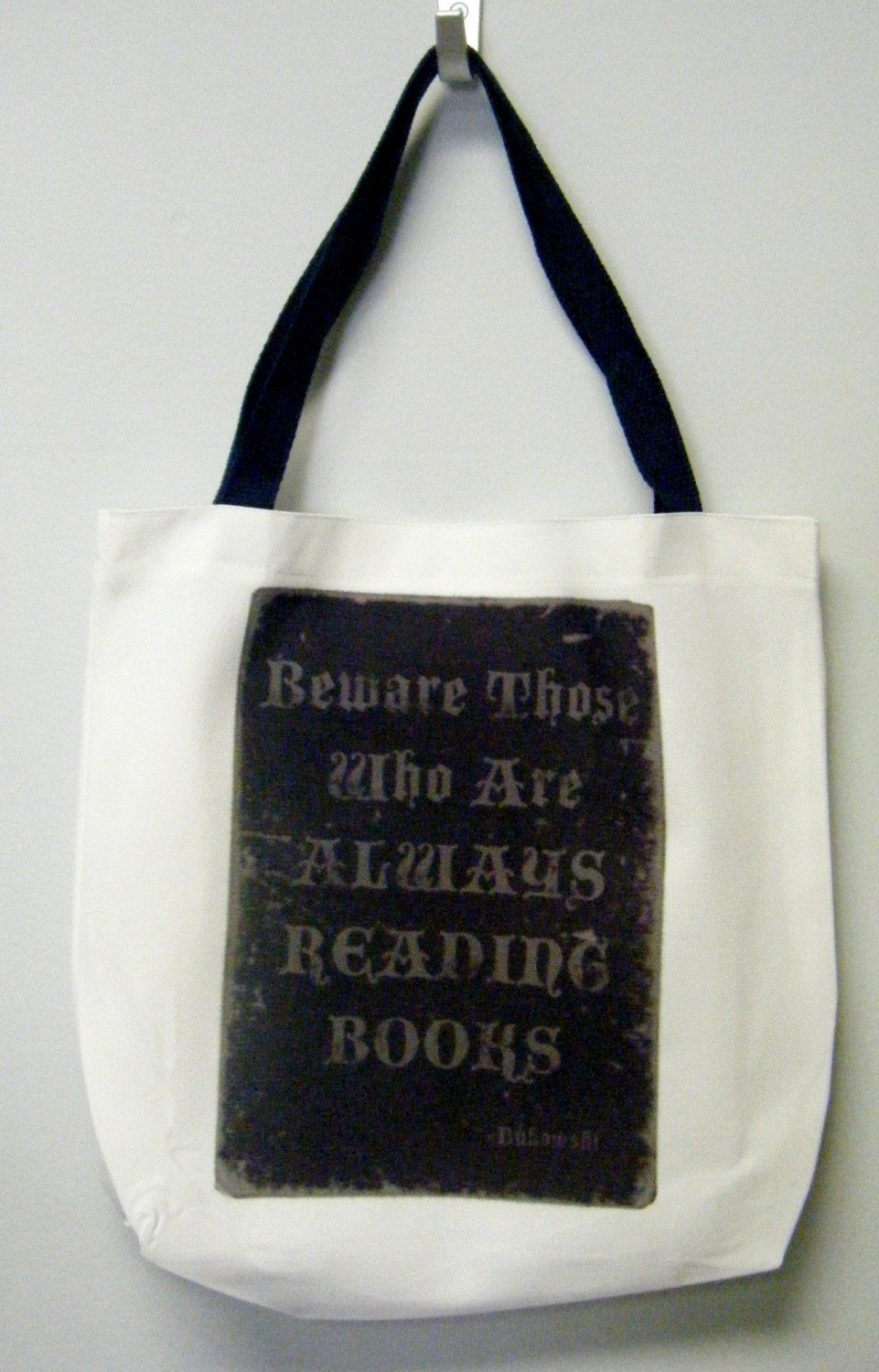 Beware Those Who Are Always Reading Books