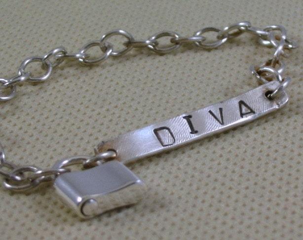 DIVA Sterling Silver Bracelet