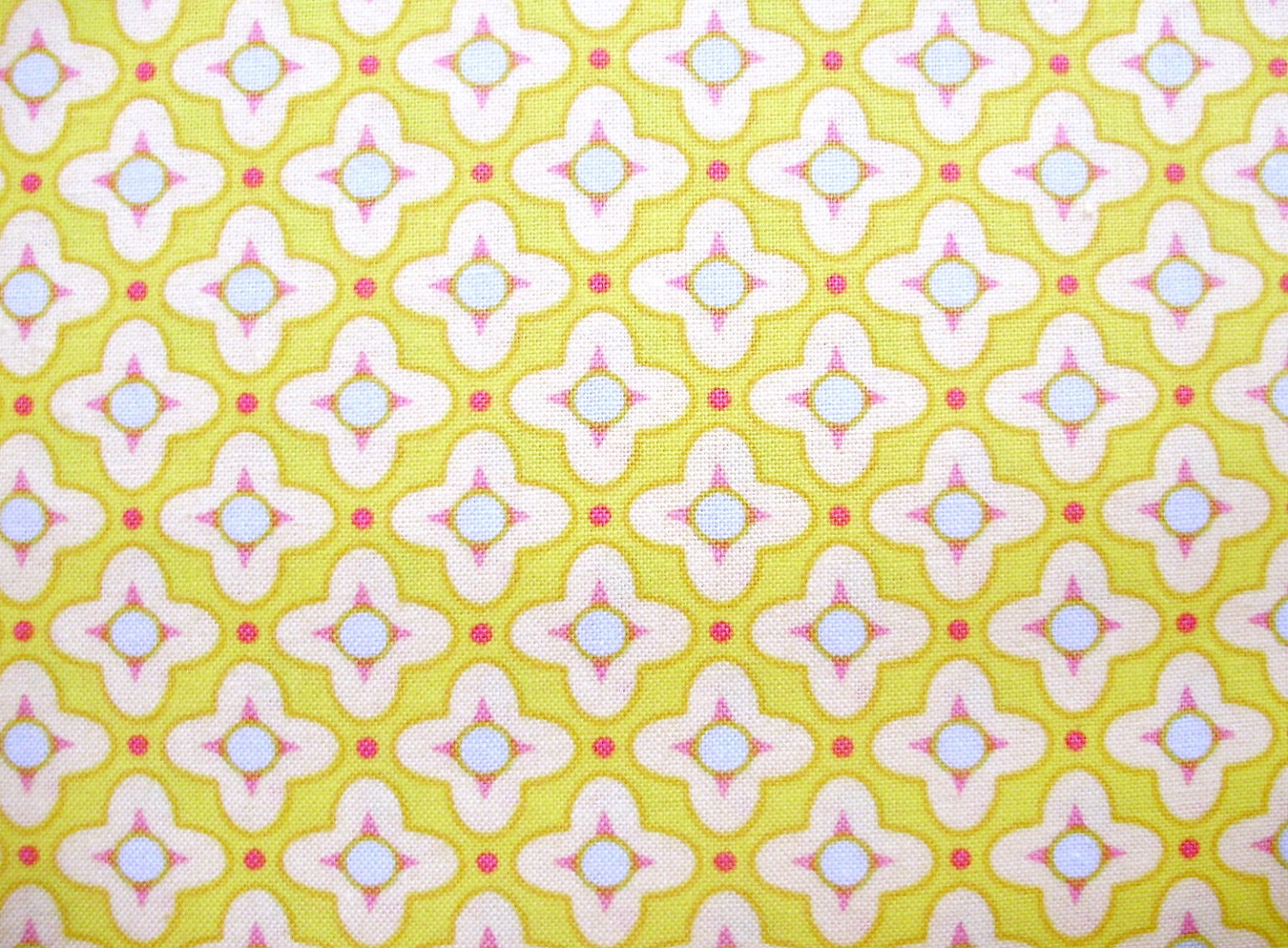 Heather Bailey Bijoux Tiled Primrose in Gold 1 Yard