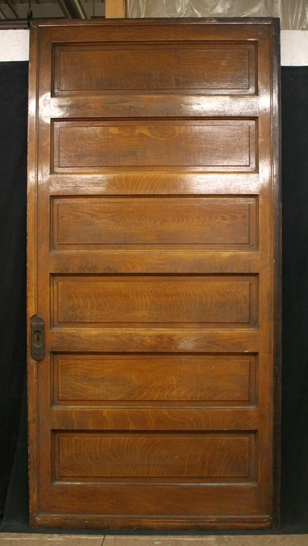 48x96 antique rift sawn oak interior pocket by for 48 inch barn door