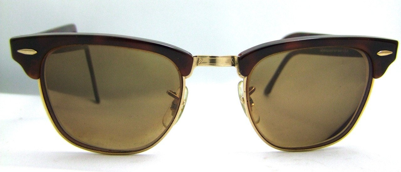 ray ban clubmaster tortoise shell. RAY BAN CLUBMASTER 1980S TORTOISESHELL VINTAGE EYEGLASSES. From ifoundgallery11
