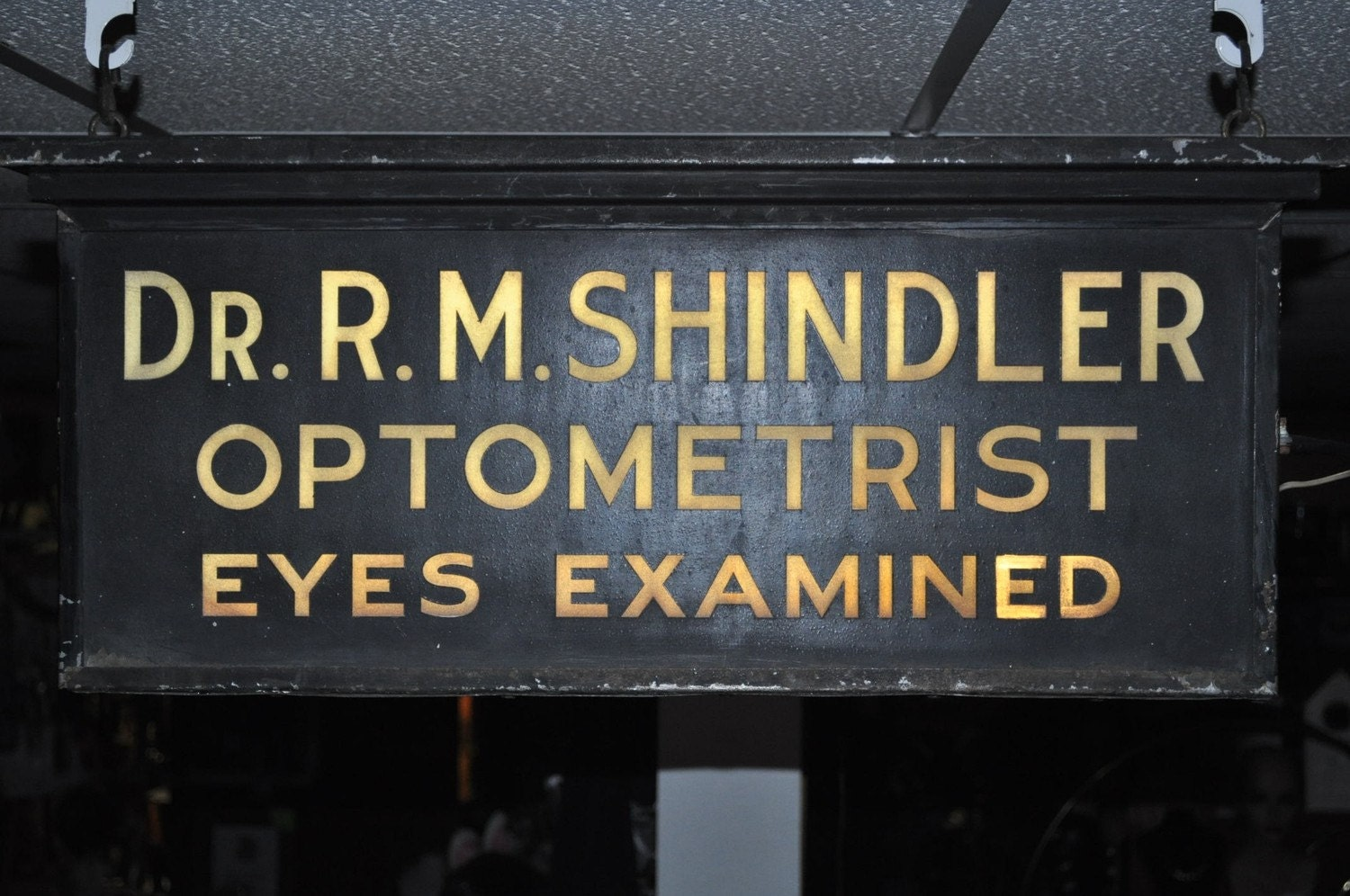 Have Your Eyes Examined Vintage Optometrist Sign