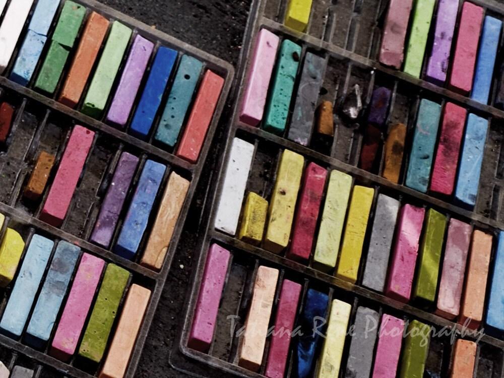 Colored Streets - 8x10 Fine Art Print