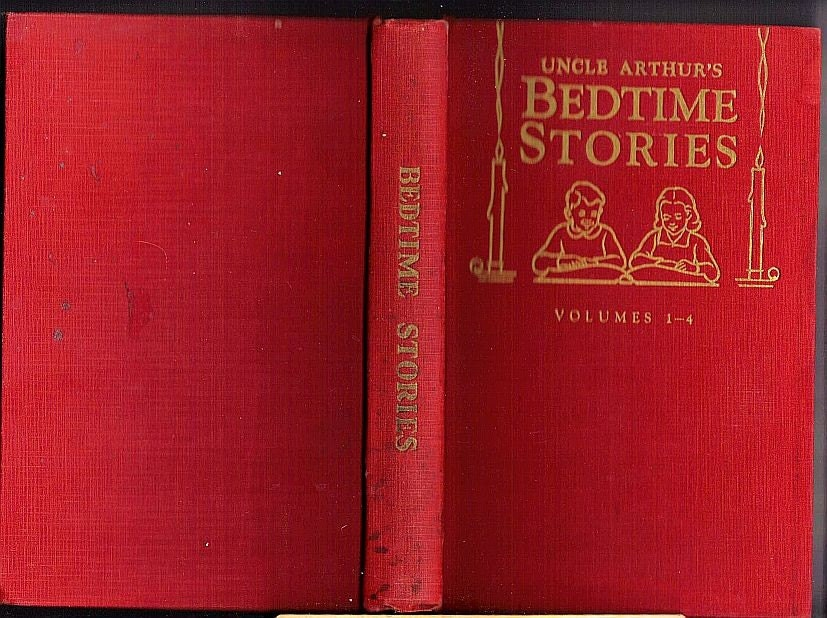 Vintage 1941 - Uncle Arthur Bedtime Stories, Volumes 1 - 4