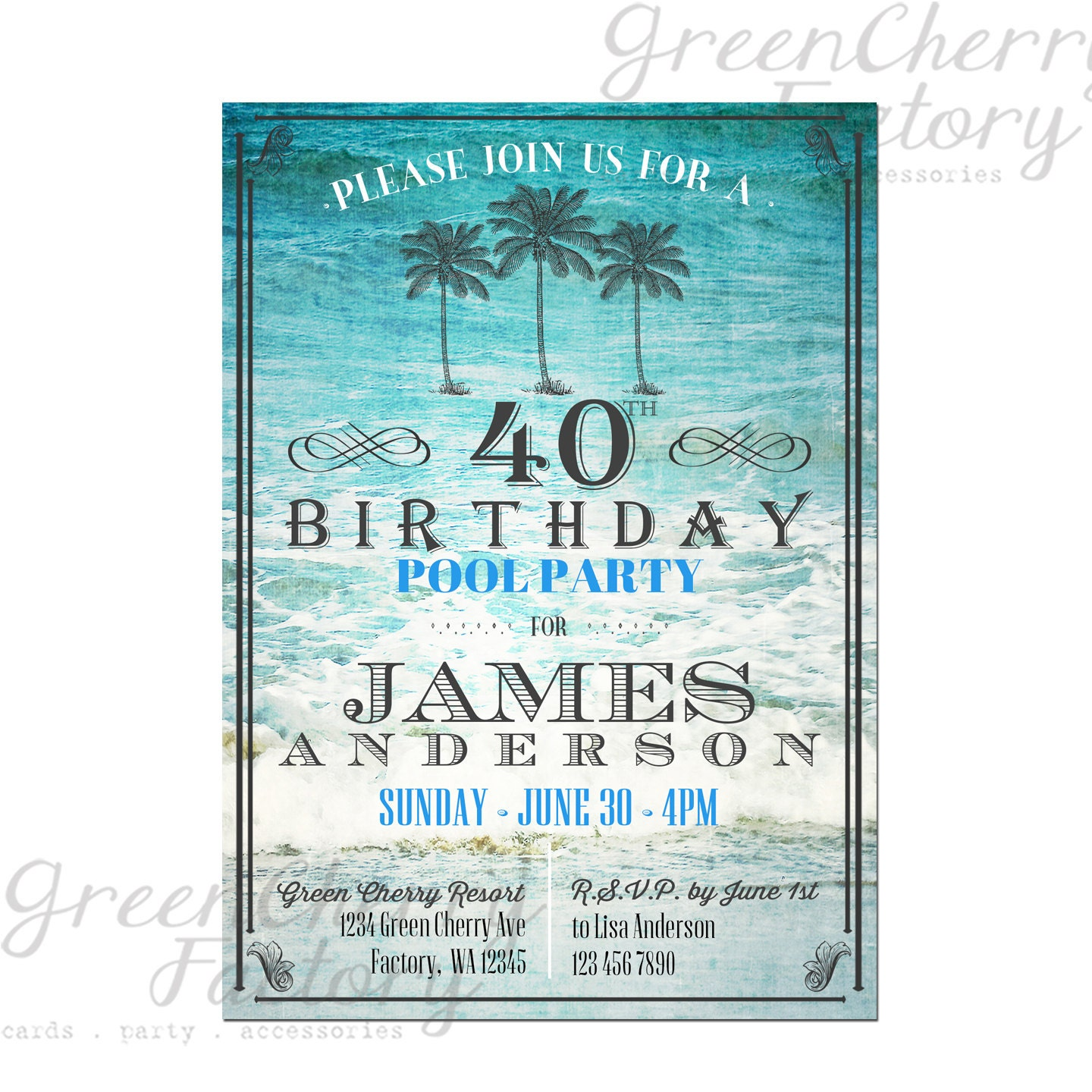 Invitation Cards For Birthday Party For Adults with amazing invitation design