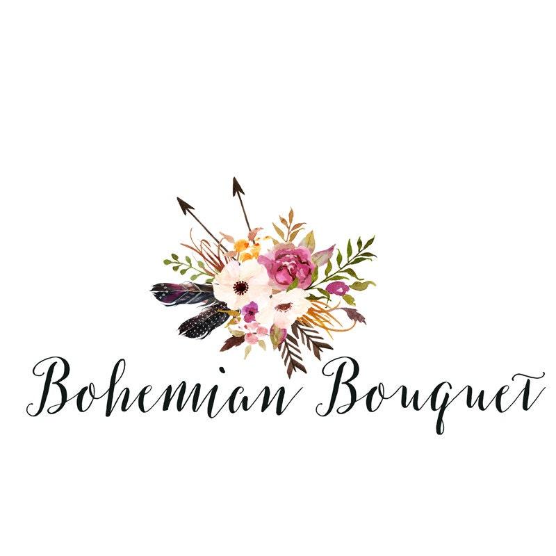 21 Best free bohemian logo images  Graphics Type design