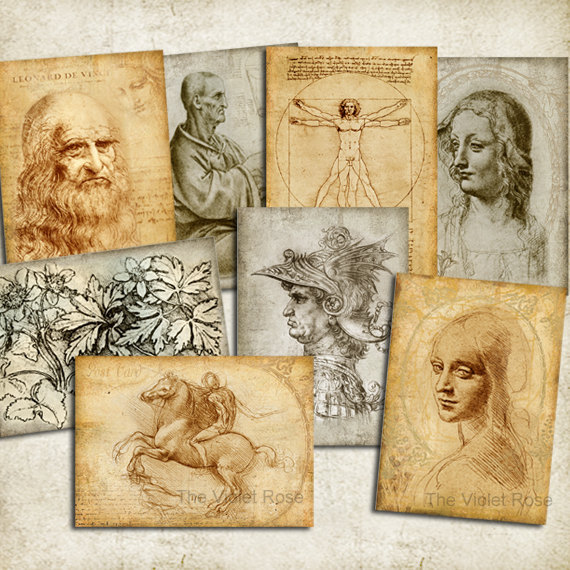 response paper leonardo da vinci The last supper also inspired popular fiction and not just the da vinci code a pervasive part of the painting's mythology is the story that da vinci searched for ages for the right model for his.