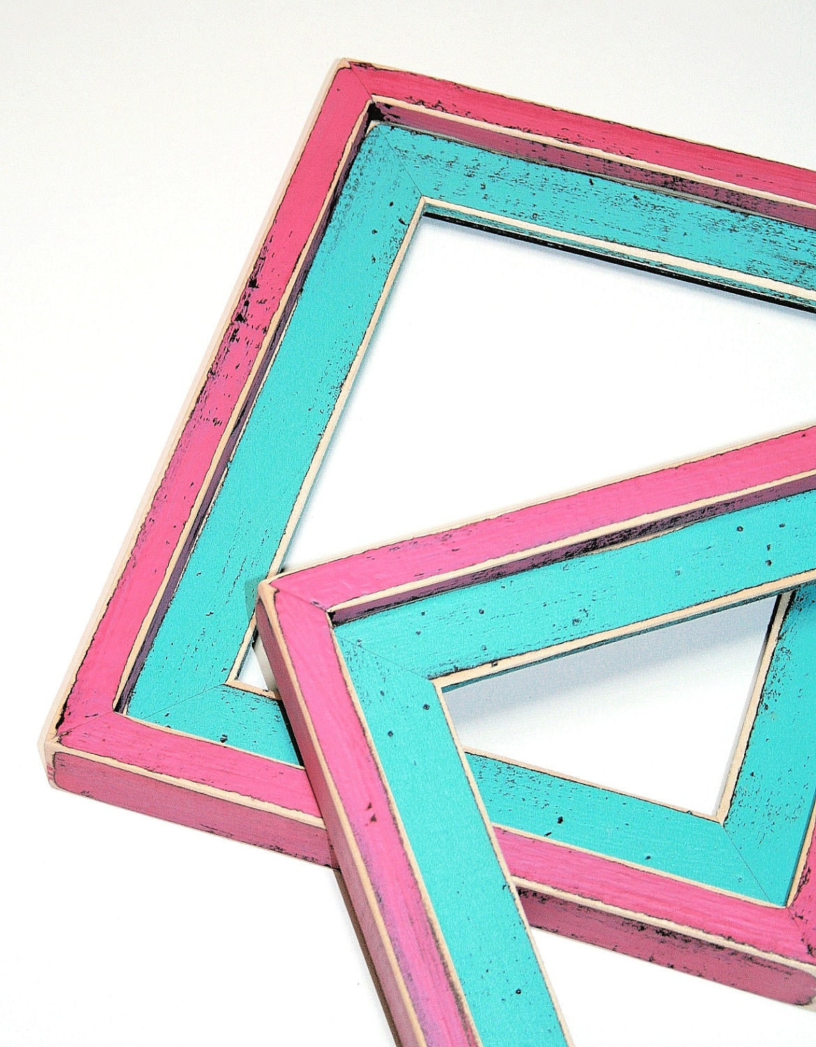 Colorful poster frames